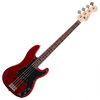 Squier Affinity PJ Bass Metallic Red